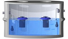 Micro-station d'épuration AQUAmax Professional