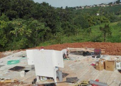 Installation d'une station d'épuration pour un immeuble de 366 EH