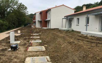 Station d'épuration pour un lotissement de 150 EH en Haute-Garonne (31)