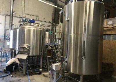Micro-station d'épuration effluents spéciaux de brasserie