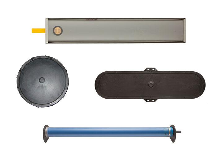 Systèmes de diffuseurs à membrane d'ATB