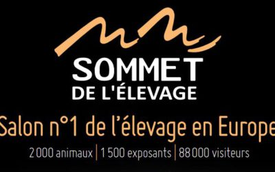 ATB France au Sommet de l'élevage de Clermont-Ferrand les 4, 5 et 6 octobre 2017