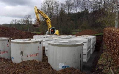 Station d'épuration SBR 600 EH pour un camping dans les Ardennes