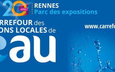 ATB vous donne rendez-vous pour la 20ème édition du Carrefour de l'Eau à Rennes les 30 et 31 janvier 2019