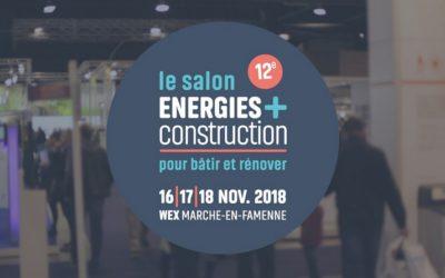 ATB sera présent au salon ÉNERGIES+CONSTRUCTION, les 16, 17 et 18 novembre 2018