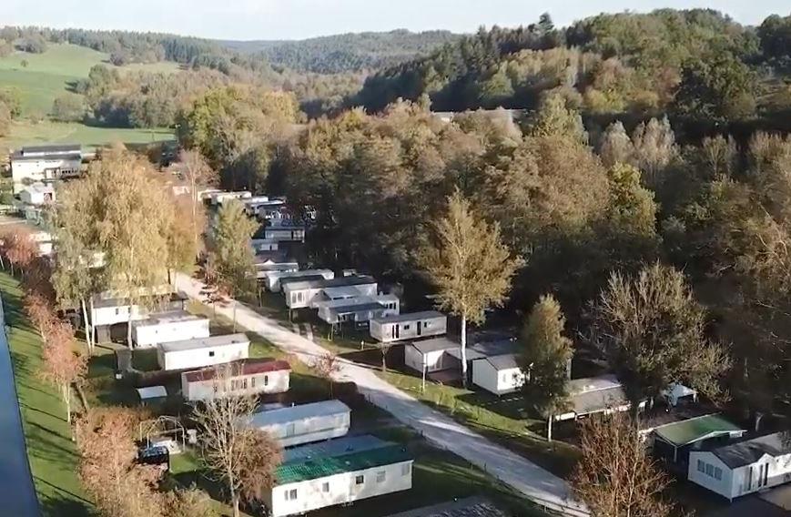 Station d'épuration 600 EH dans le plus grand camping de Wallonie