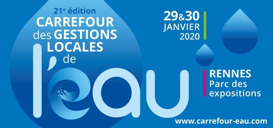 Micro-stations ATB France au Carrefour des Gestions Locales de l'Eau - Janvier 2020