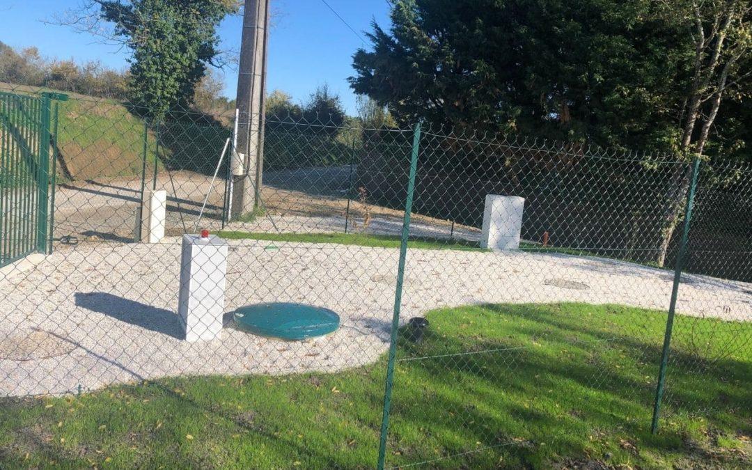 Station d'épuration de 175EH pour un hameau Salleboeuf (33)